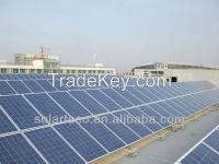 Hybrid MPPT solar power system for industrail, hospital, school, hotel, shed