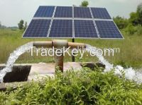 Solar irrigation system for 400W to 2200W single phase pump