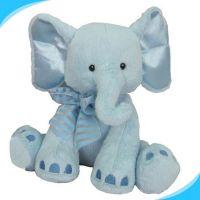 wholesale custom plush elephant toy , plush animal toys elephant toy