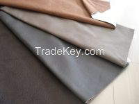 Embossed suede Fabric with Nonwoven Backside for Sofa