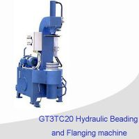 Tin can making machine/ hydraulic beading and flanging machine