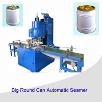 Automatic round can seamer