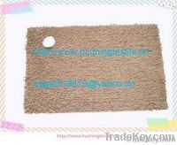 chenille carpet with anti-slip bottom, chenille floor mat & door mat