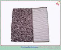 Loop velvet shaggy floor rugs, white velvet cutting chenille cotton car