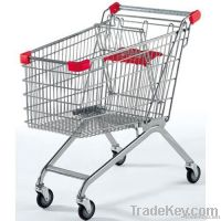 60-210 Liters Supermarket trolleys Shopping Cart/euro truck