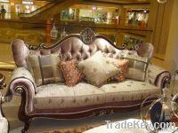 Solid wood Antique luxury bedroom set