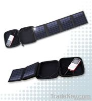 Solar charger wallet