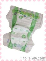 2013 New & Super soft clothlike baby diaper with velcro tapes
