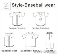 custom sublimation baseball tops