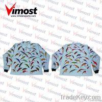 Custom sublimation print polo shirts