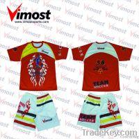 Custom sublimation print soccer jersey
