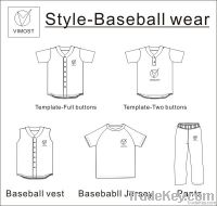 full dye-sub baseball jersey