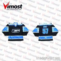 dye-sub ice hockey jersey/100% polyester/custom made