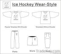 digital hot transfer print ice hockey pants
