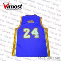 custom basketball jersey/sublimation print