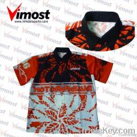 custom 100% polyester motorcycle shirts