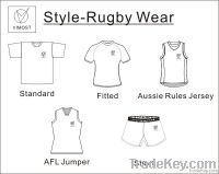 custom 100 % polyester rugby jersey