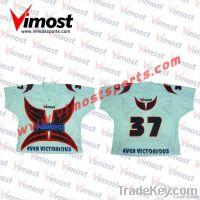 sublimation custom reversiblr lacrosse jersey, OEM