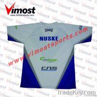 Custom cricket playing shirt