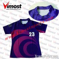 sublimation custom rugby wear rugby jersey  team uniform