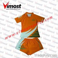 OEM custom high quality rugby jersey with sublimation
