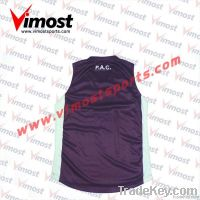 OEM custom aussie rules jersey with sublimation