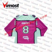 Pink Ice Hockey Jersey