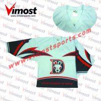 100%polyester ice hockey jersey