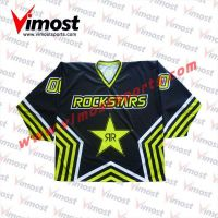 Custom Star Hockey Jersey