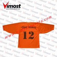 Orange Ice Hockey Wear