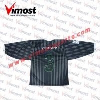 Business suit style ice hockey jersey