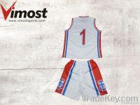 custom  basketball uniform with sublimation , OEM