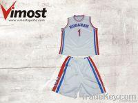 OEM custom basketball uniform , unique design