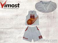 OEM custom basketball uniform hot sale