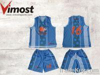 OEM custom basketball shirt, singlet , uniform with sublimation