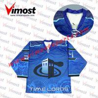 100%polyester hockey jersey