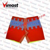 Custom 100%polyester ice hockey shorts