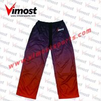 Dye-sub custom ice hockey pants