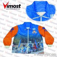 custom jacket with sublimation