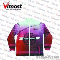 custom jacket with sublimation, OEM