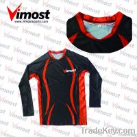 custom volleyball team uniform with sublimation