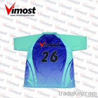 custom cricket jersey, cricket wear, with sublimation, OEM