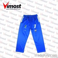 custom cricket pants, cricket wear, with sublimation