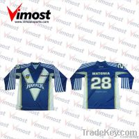 custom cricket playing jumper with sublimation