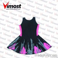 hot sale custom netball dress with sublimation , OEM