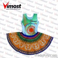 new style custom netball wear, netball dress with sublimation