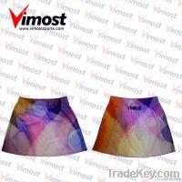 OEM sublimation custom netball skirt, netball wear