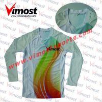 Custom rainbow volleyball wear