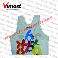 Custom numbers sublimation vest