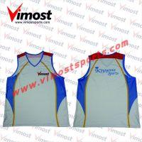 Custom sublimation women's vest